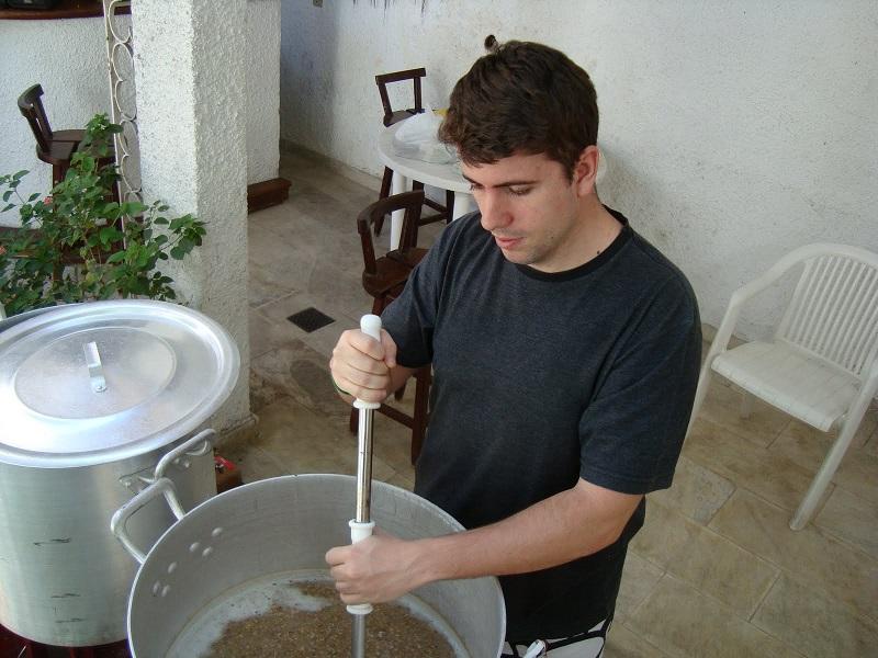 witbier albina cerveja caseira