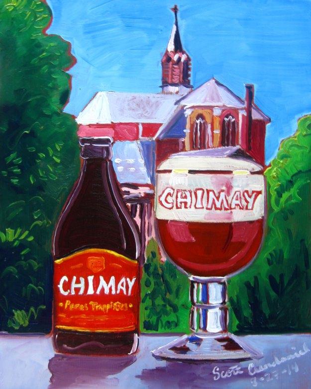 cerveja é arte - Chimay Red