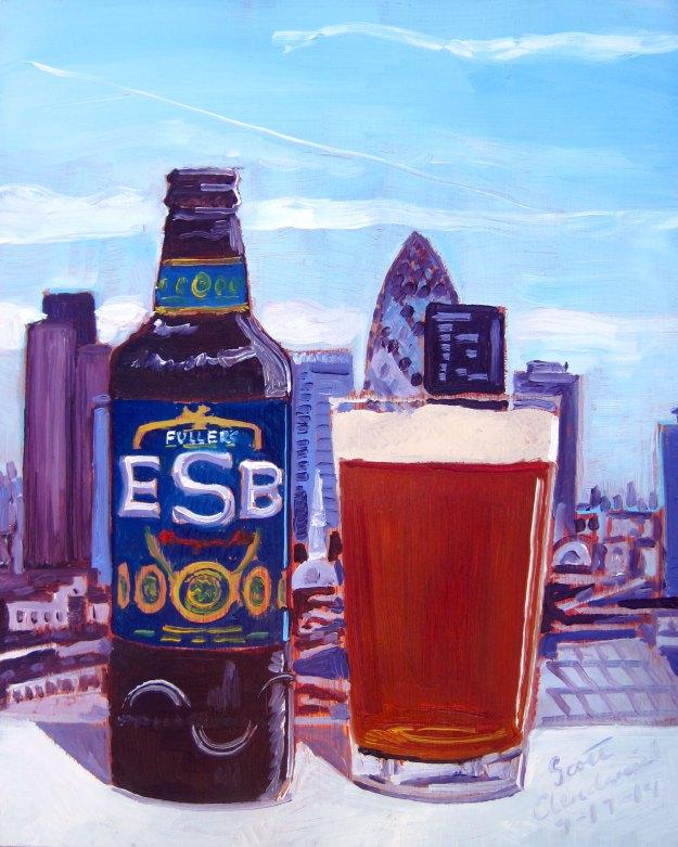 pintura cerveja Fullers ESB