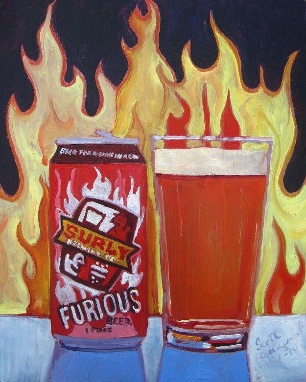cerveja é arte - Furious Beer