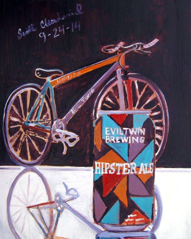 cerveja é arte - hipster ale