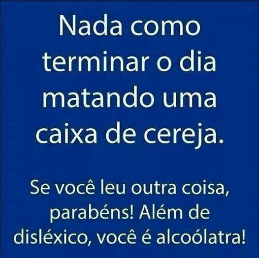 dislexia e cerveja