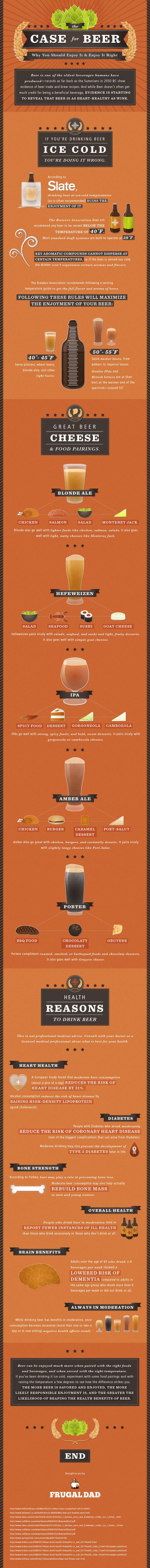 razoes para se beber cerveja