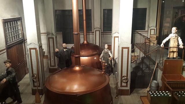 maquete cervejaria