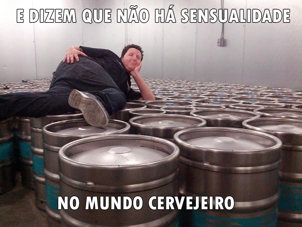 cervejeiro sensual