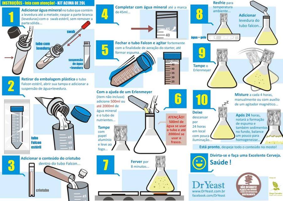 guia propagação dr. yeast