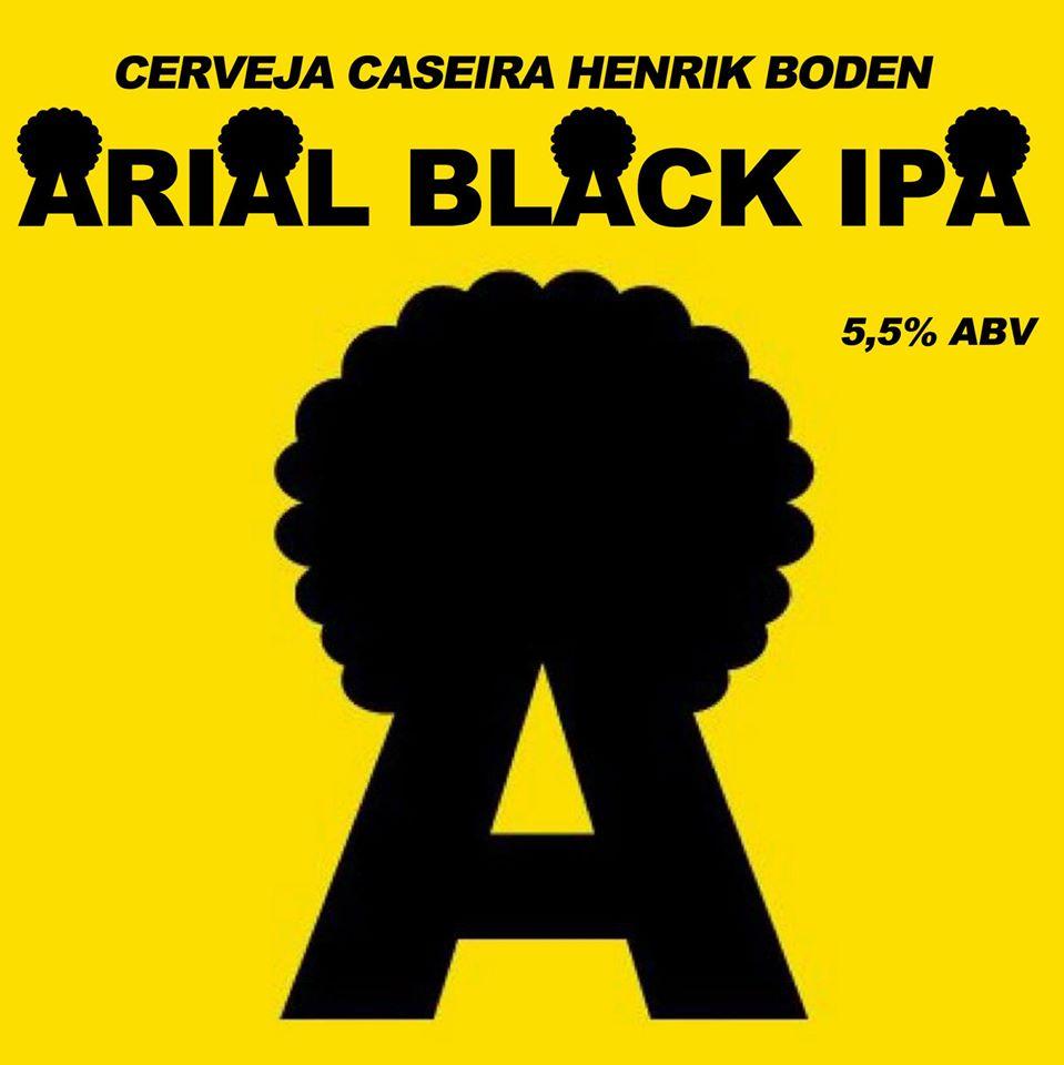 Cerveja Henrik Boden - Arial Black Ipa