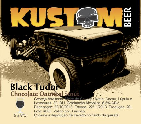 Kustom-Black Tudor