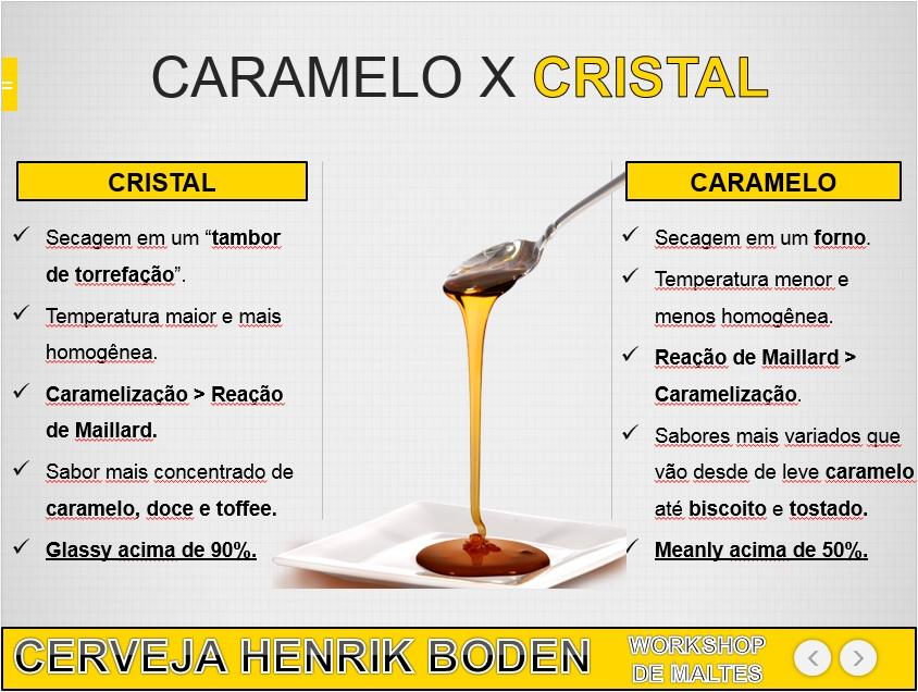 CRISTAL X CARAMELO